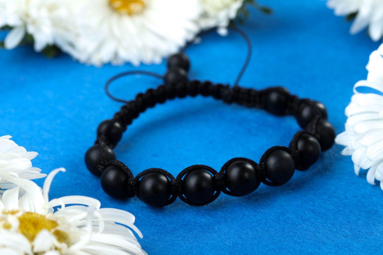 Beaded bracelet woven bracelet for men fashion jewelry present for friend photo 1