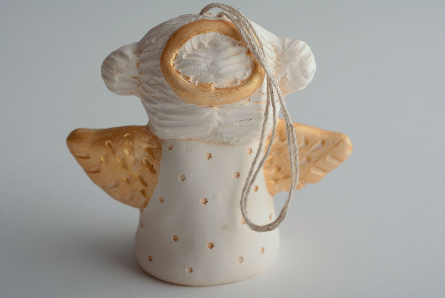Handmade ceramic bell photo 3