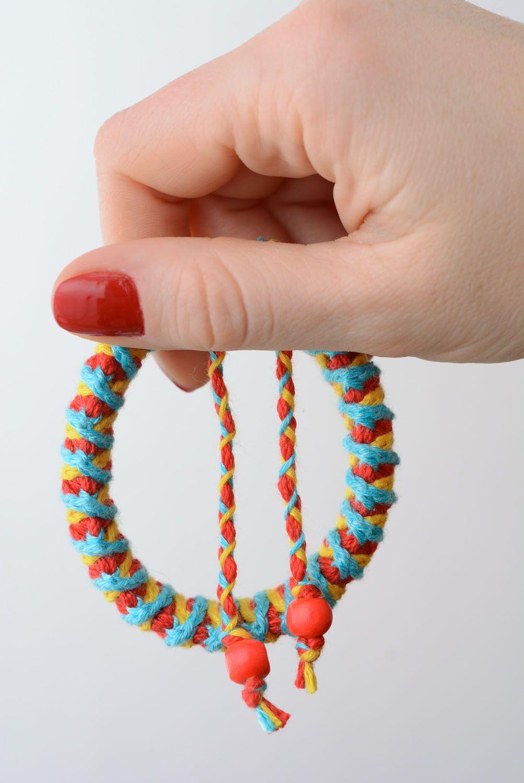 Woven bracelet photo 5