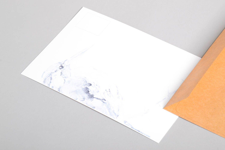 Handmade greeting cards unusual card designer signature card handmade gift photo 3
