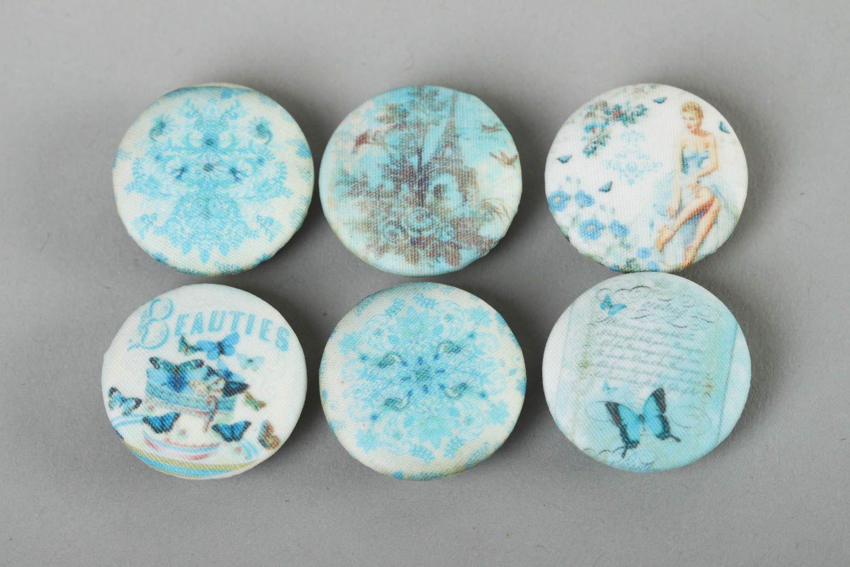 Пуговицы голубые купить ткань для рулонных штор в интернет магазине в москве