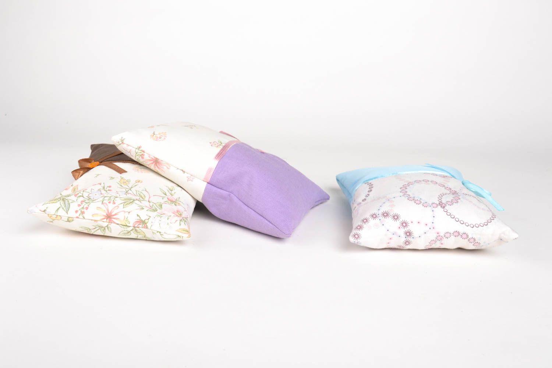 Homemade home decor decorative pillows scented sachets 3 sachet bags gift ideas photo 3