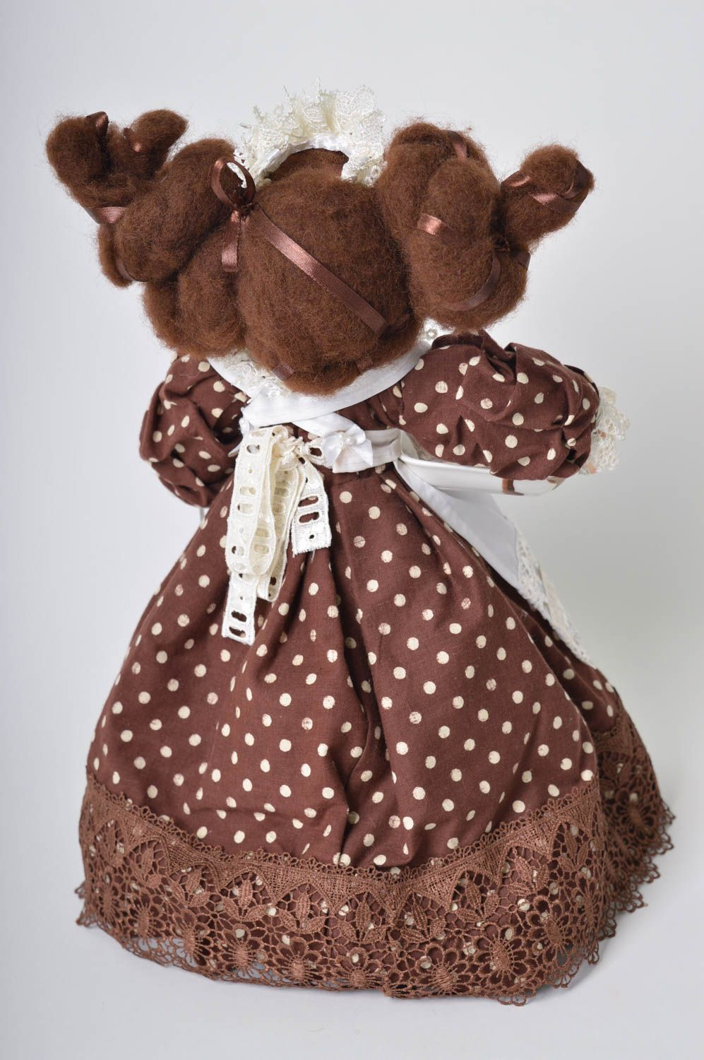 Handmade soft doll soft toy for kids nursery decor for decorative use only photo 3