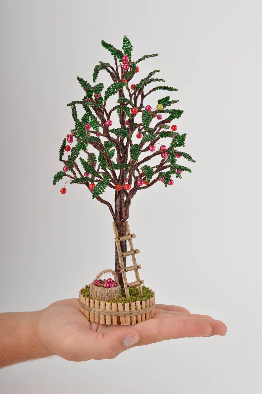 Схема деревьев из бисера фото