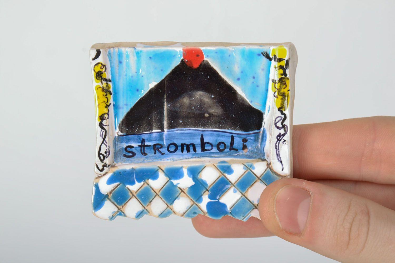 Clay fridge magnet photo 2