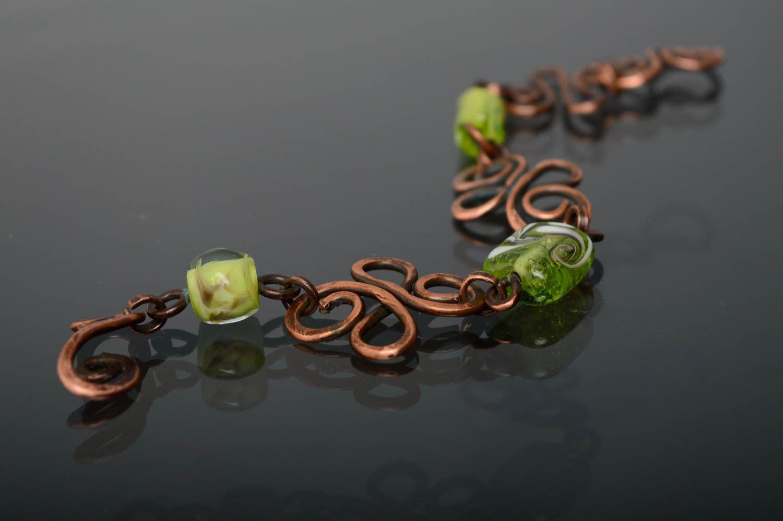 Copper wrist bracelet photo 5