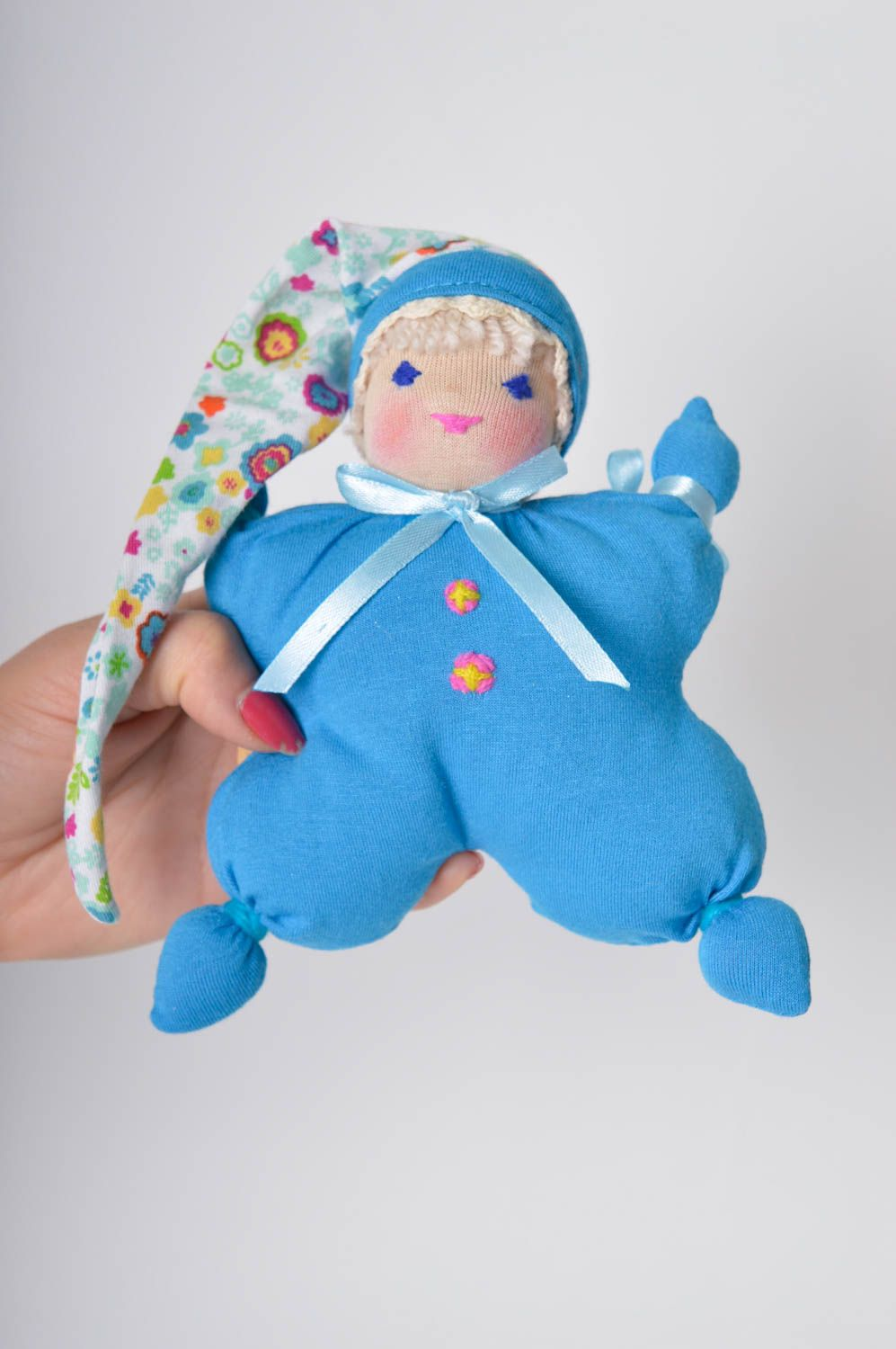 Toy for kids handmade soft toy soft doll nursery decor for decorative use only photo 4