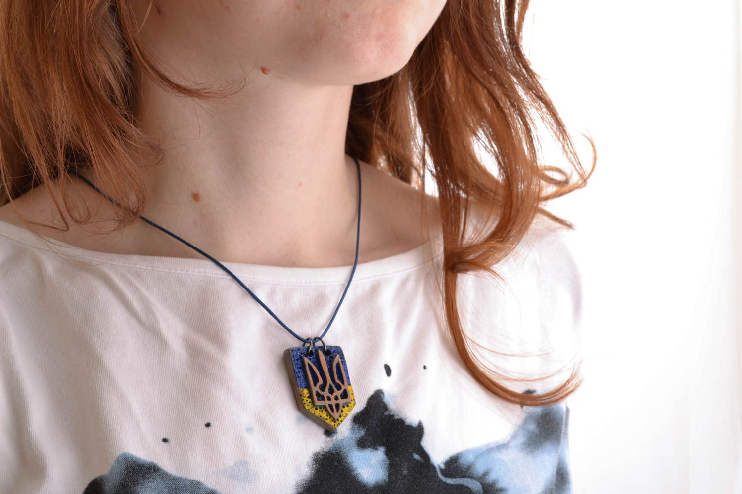 Ceramic pendant with coat of arms photo 5