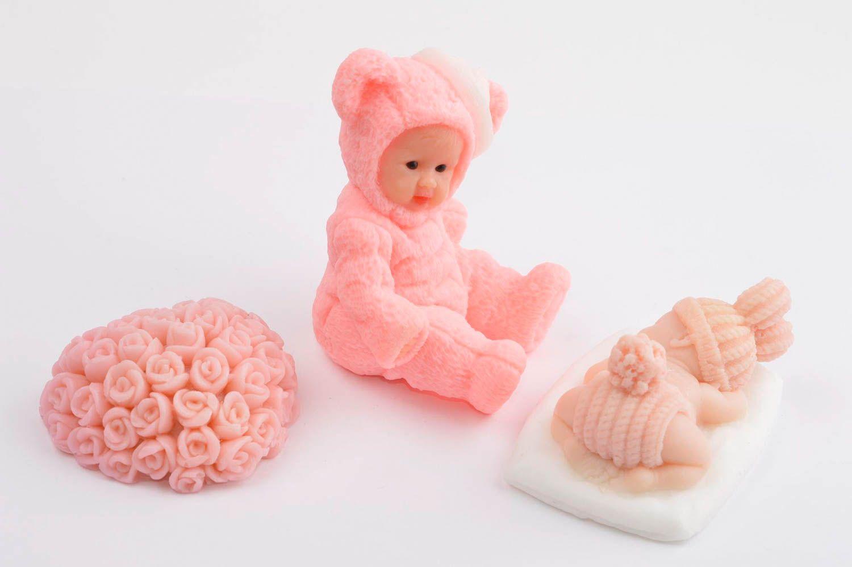 Decorative soap bath decor homemade soap natural soap natural cosmetics for girl photo 3