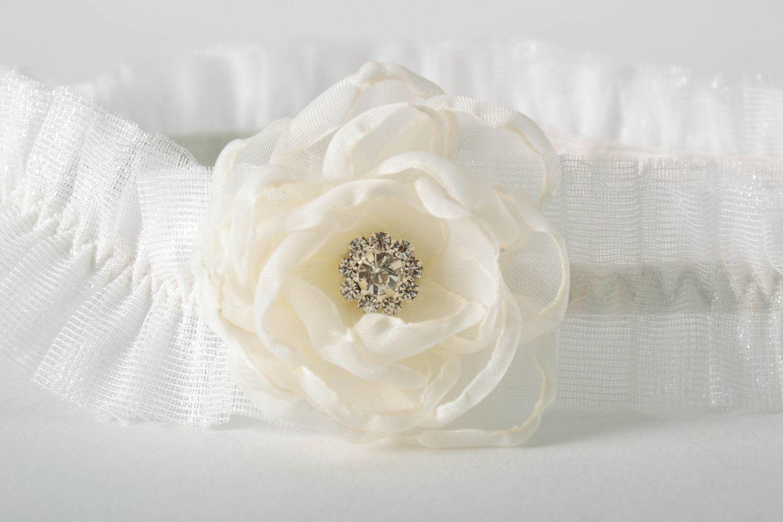 wedding accessories Wedding garter for bride - MADEheart.com
