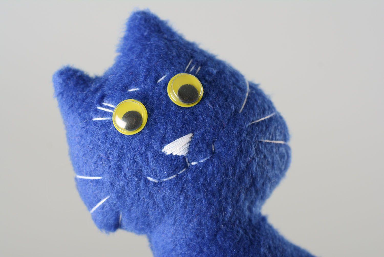 Textile toy Blue Cat photo 2