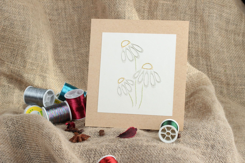 Izon technique painting Daisies photo 5