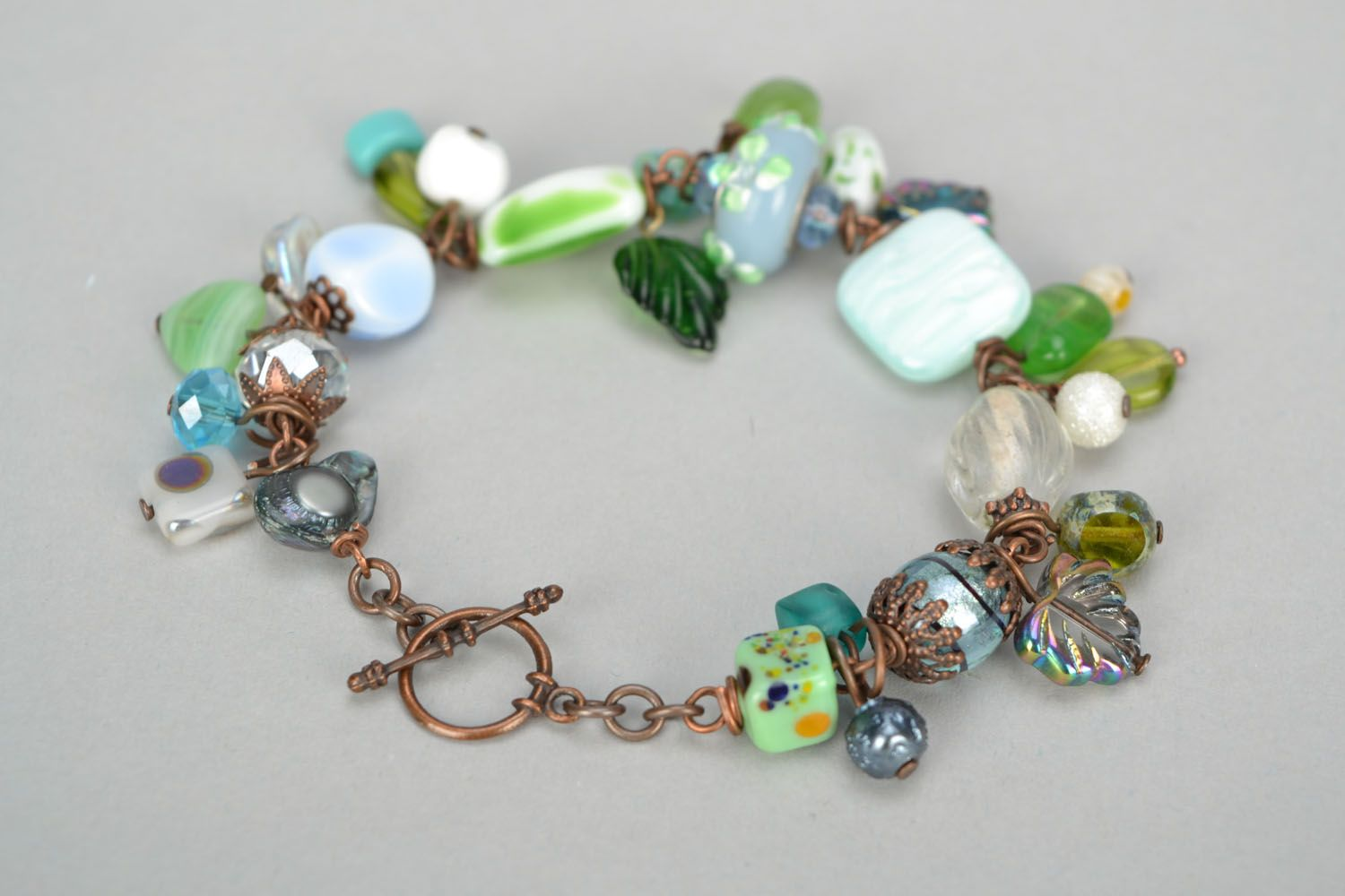 Bracelet with charms photo 6