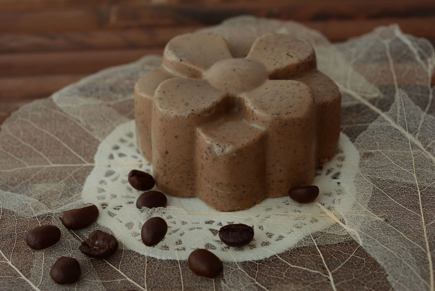 Natural soap Coffee Flower photo 2