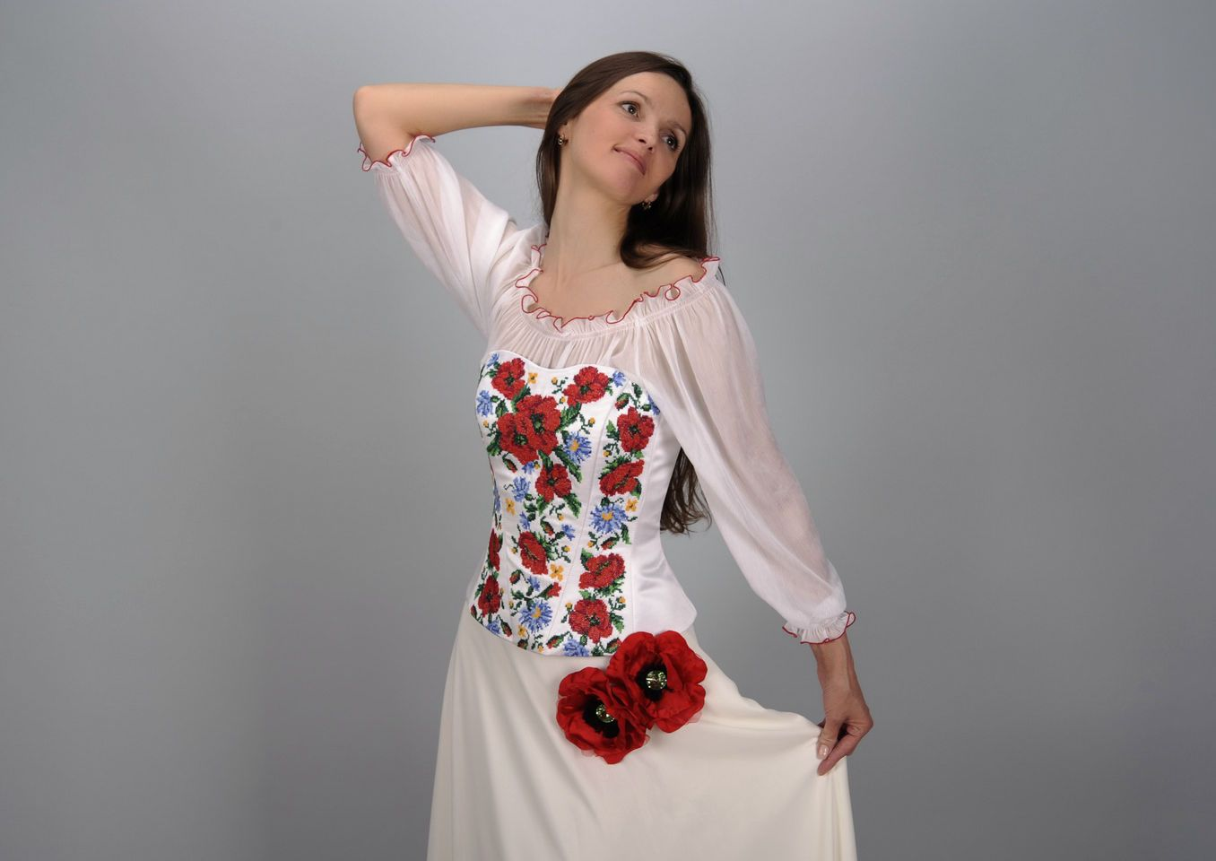 clothes Wedding ensemble in ethnic style - MADEheart.com