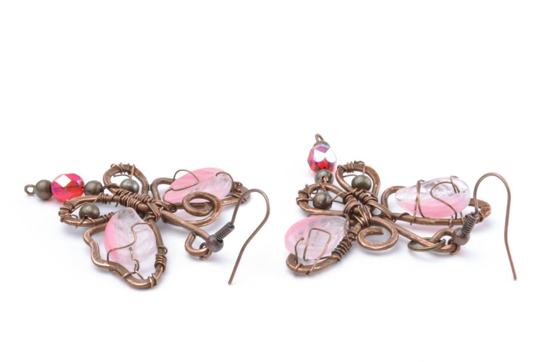 Copper earrings Dream photo 4