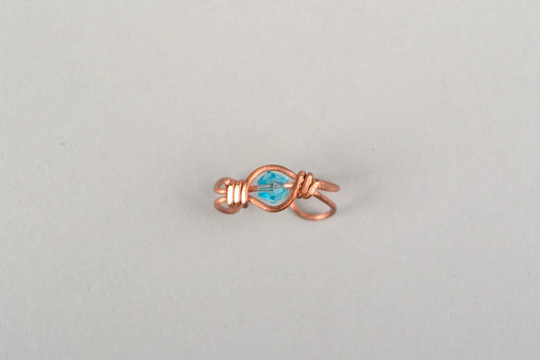 Ear cuff, wire wrap foto 2