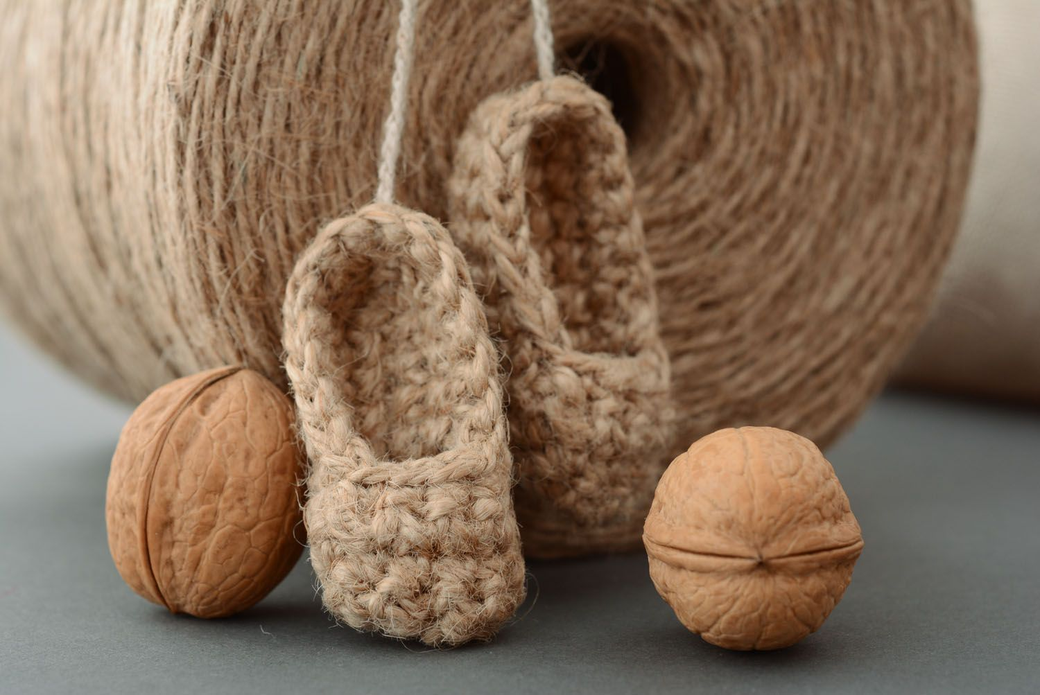 Interior pendant Straw Shoes for Brownie photo 1