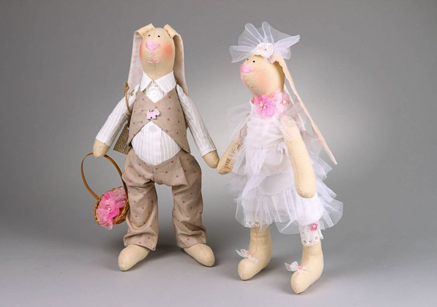 Set of soft toys Just married photo 4