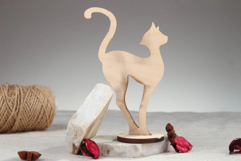 Как сделать фигурку кошки своими руками