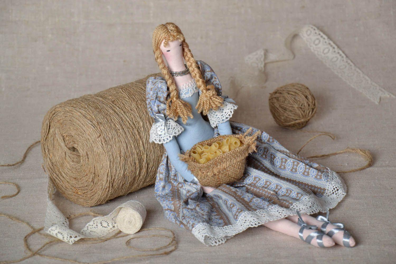 Textile interior doll  photo 1