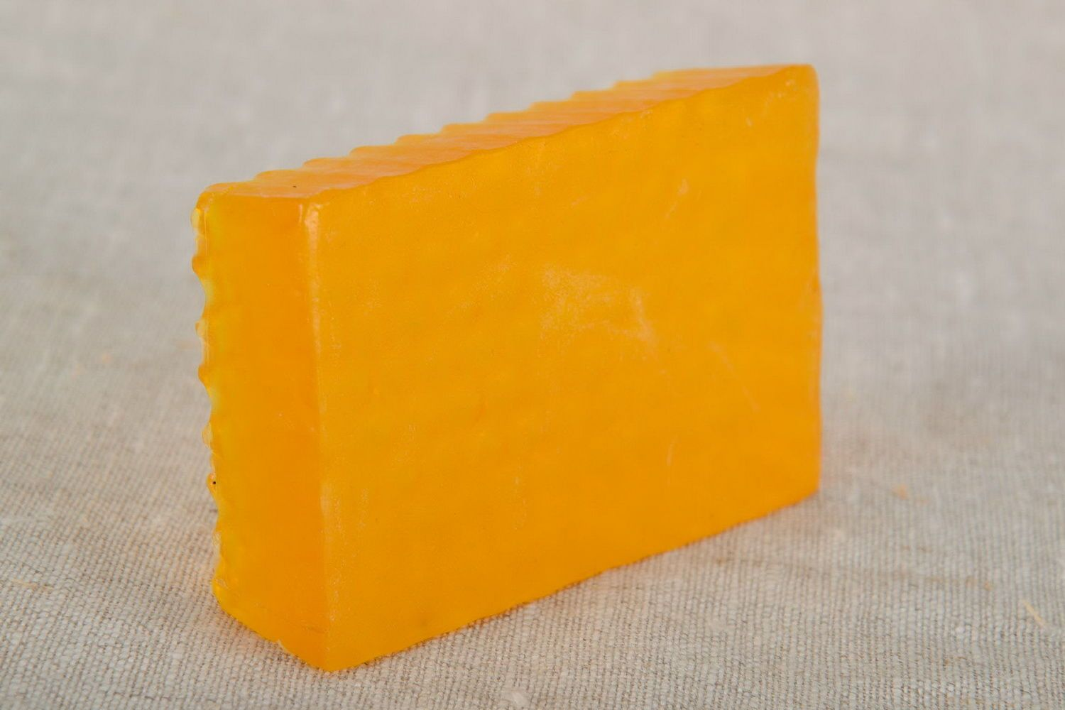 Honey soap with seaberry oil photo 5