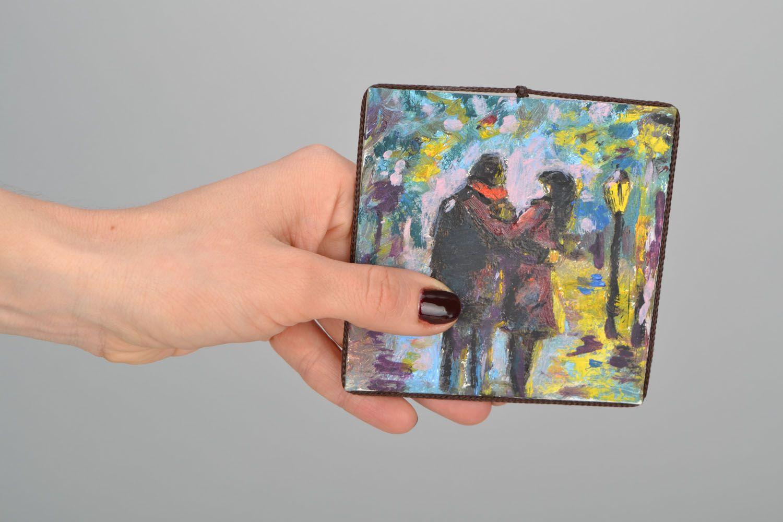 Handmade fridge magnet photo 2