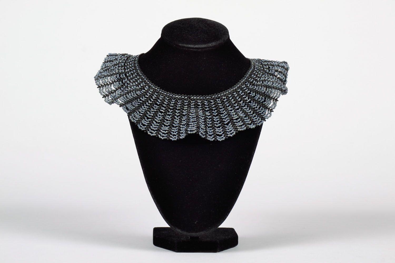 Multi-row beaded necklace photo 2