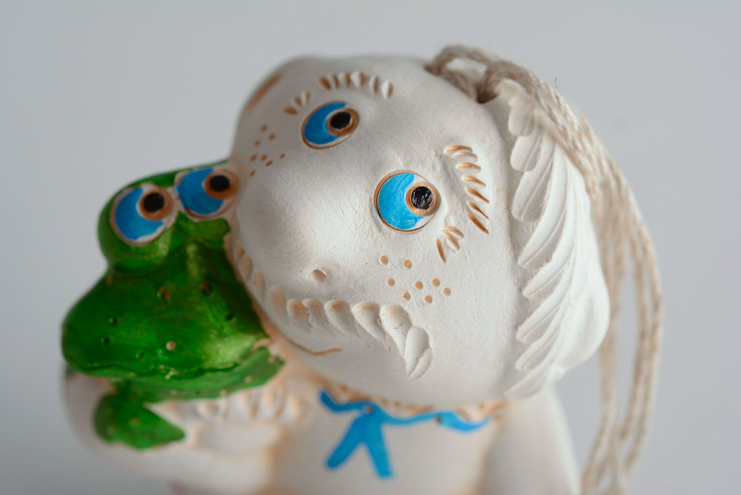 Ceramic charm bell Protection from Envious Persons photo 2