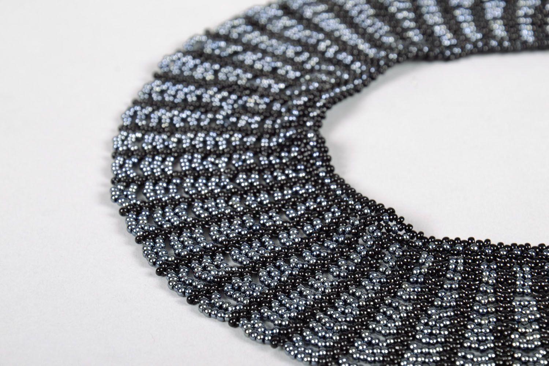 Multi-row beaded necklace photo 4