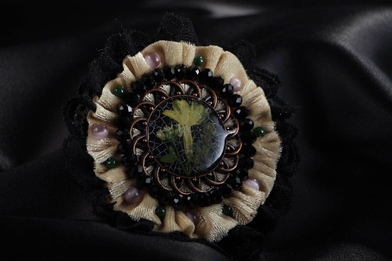 Fashionable homemade brooch photo 4