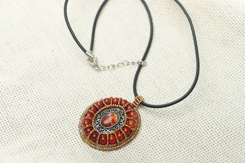 Madeheart homemade pendant with cornelian pendants homemade pendant with cornelian madeheart aloadofball Gallery
