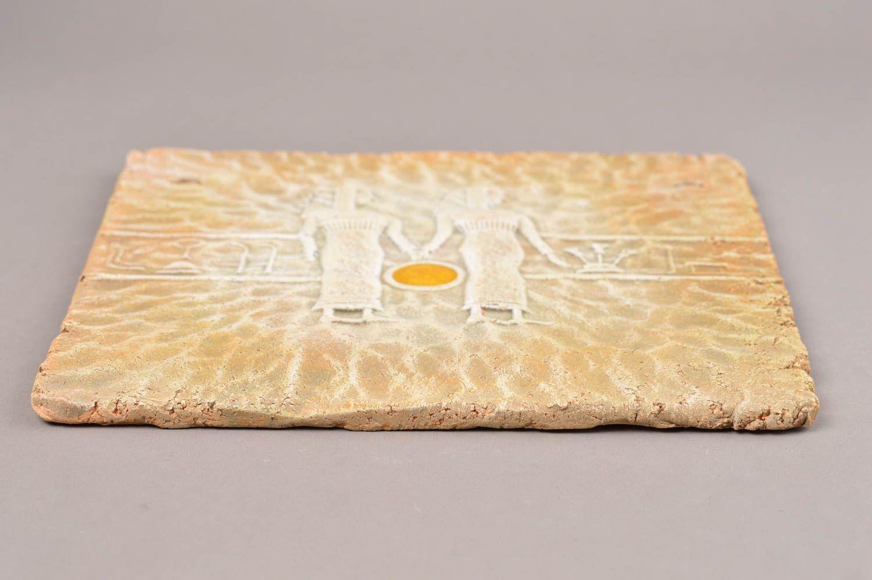 MADEHEART > Unusual handmade ceramic wall panel decorative wall tile ...