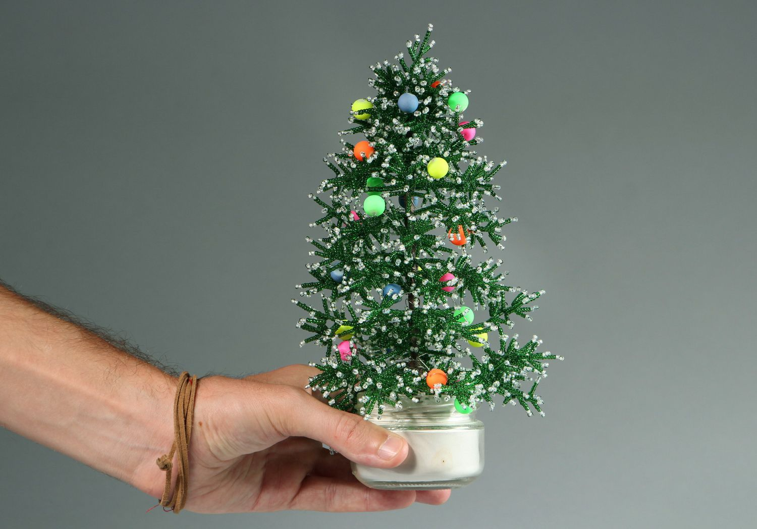 Decorative Christmas tree for New Year photo 19
