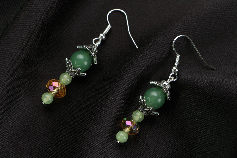 Homemade earrings Apple Blossom  photo 1