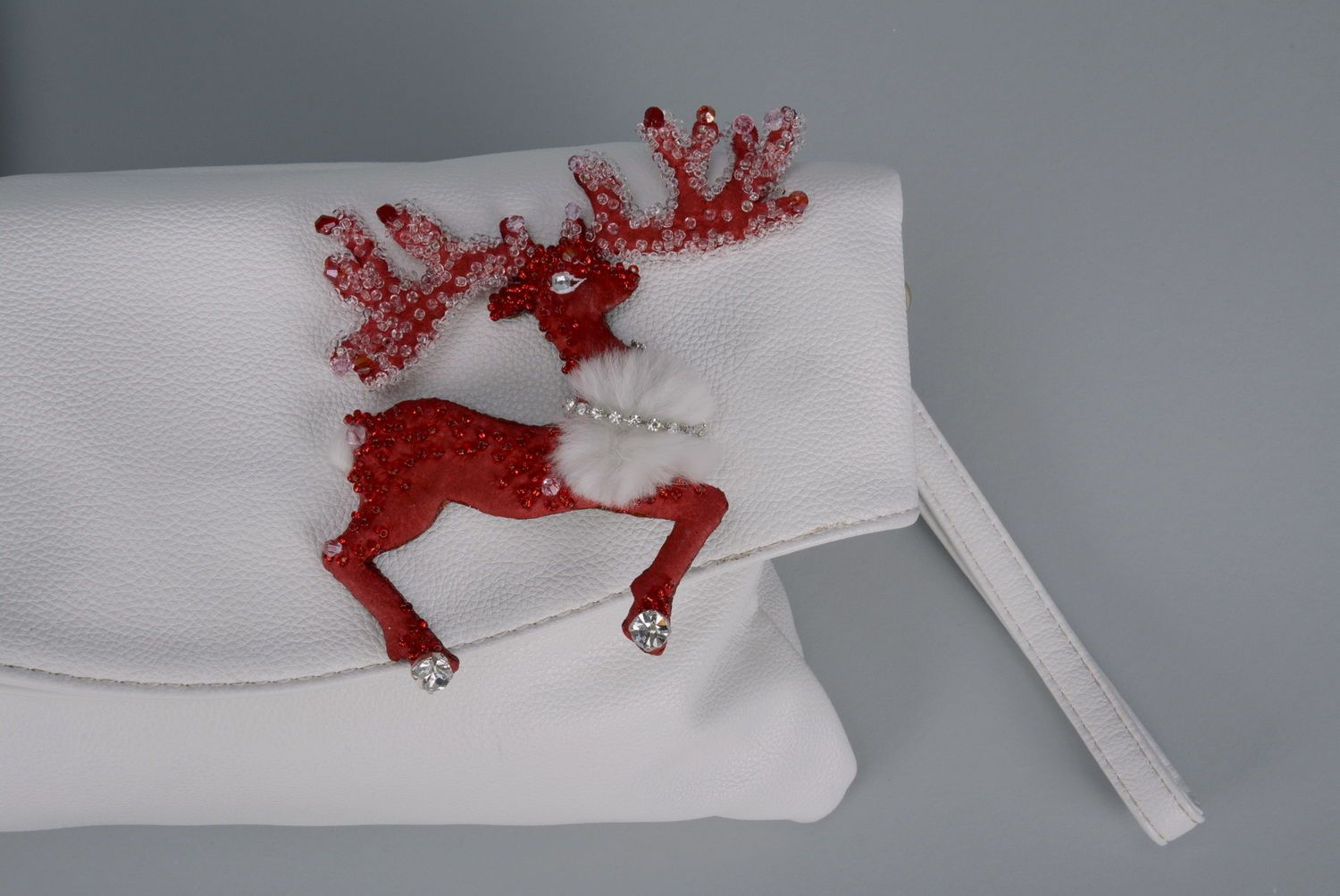 Brooch Reindeer photo 3