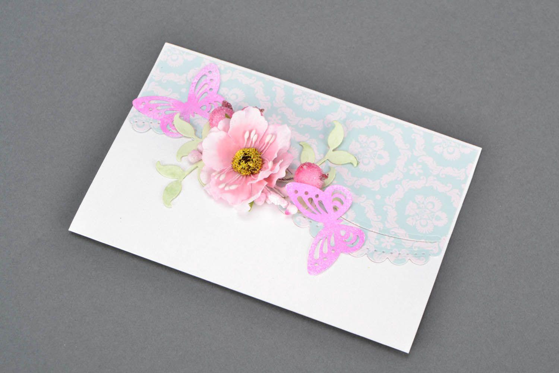 Авторски открытки, цветы