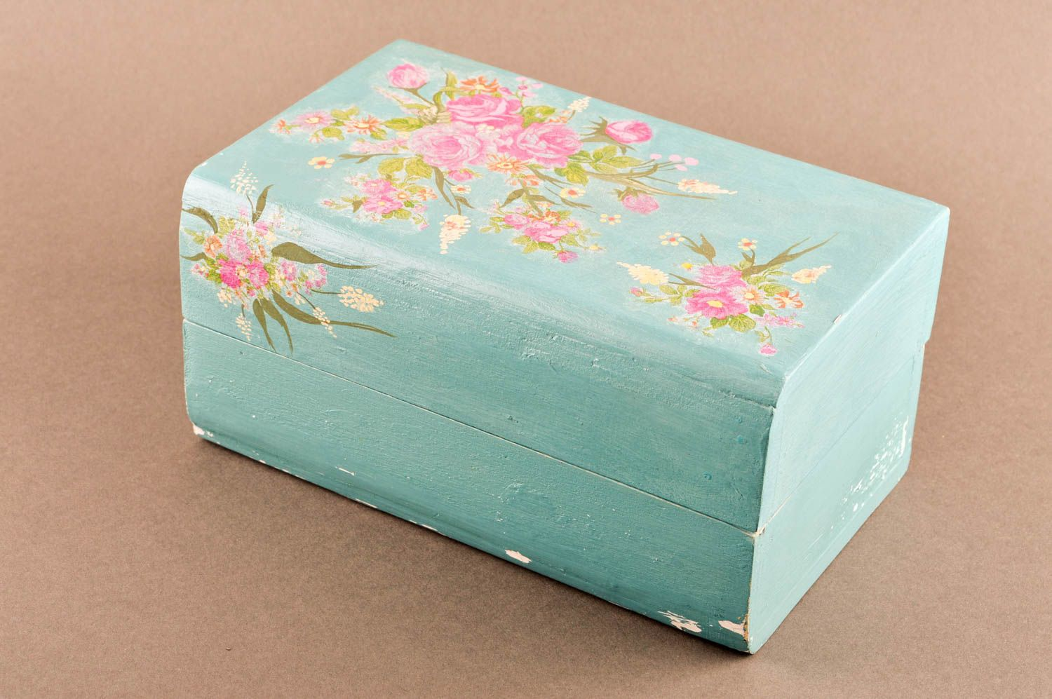 MADEHEART Unusual handmade jewelry box vintage wooden box design