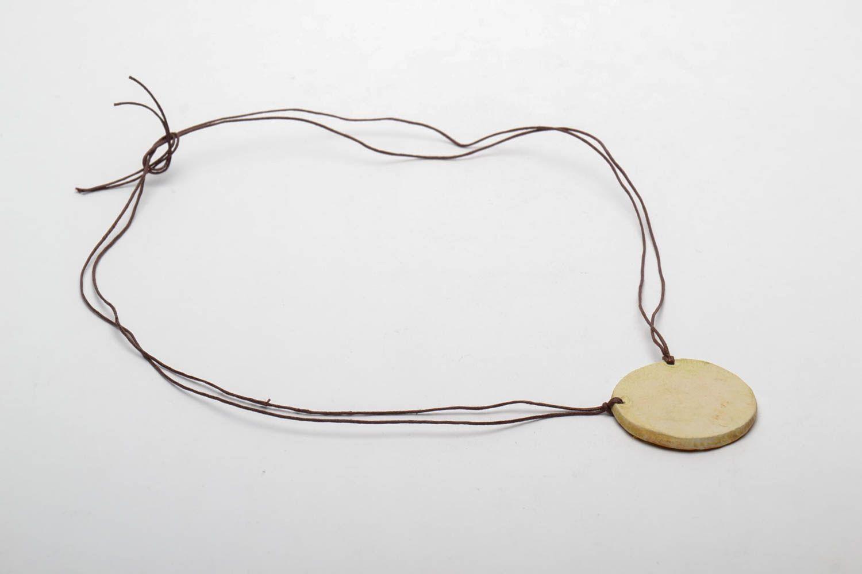 Clay neck pendant photo 5