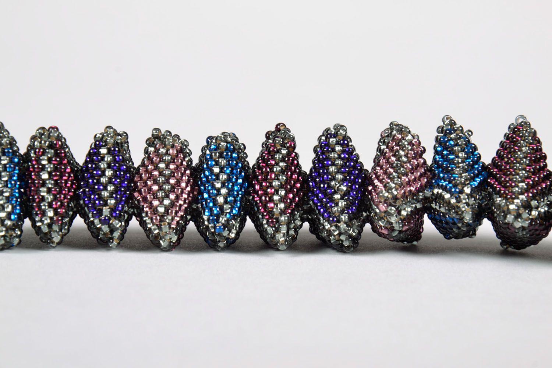 Unusual beaded bracelet photo 3
