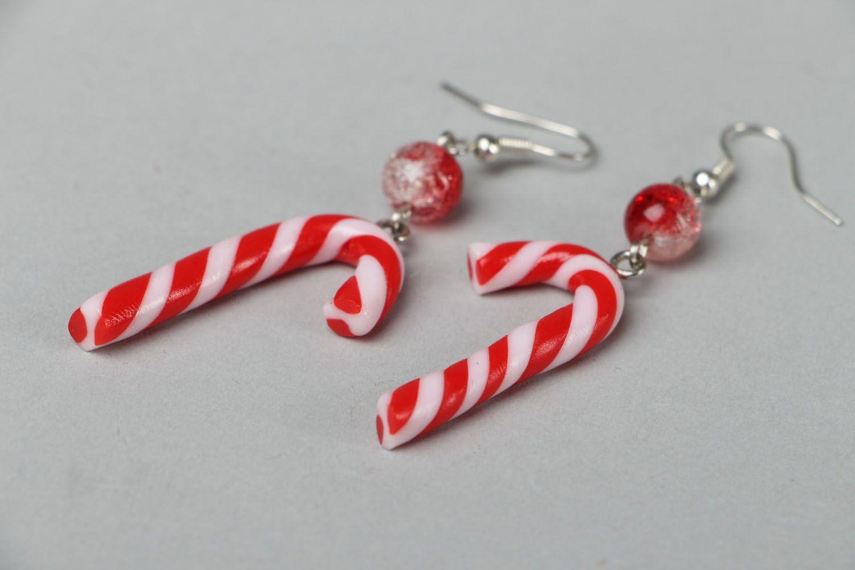 Dangle earrings Sugar Stick photo 2