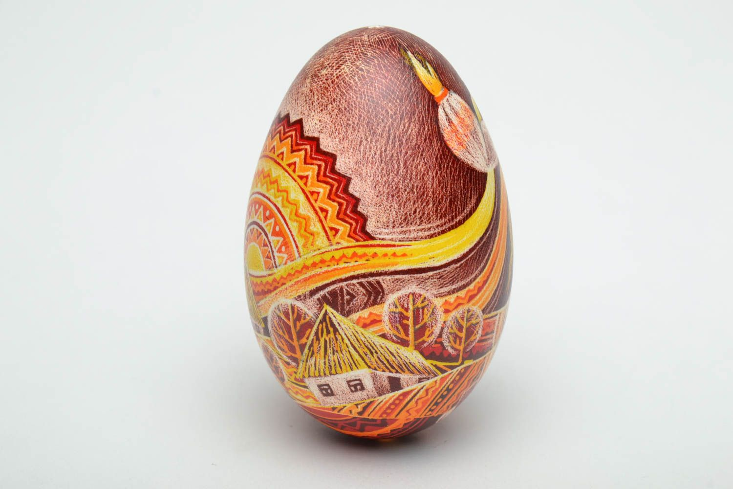 Designer pysanka in Ukrainian style Spring photo 4