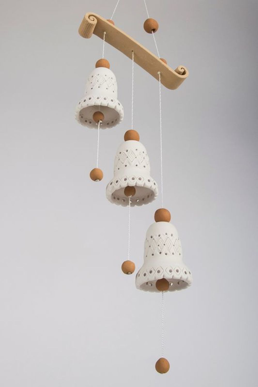 3 ceramic bells  photo 3
