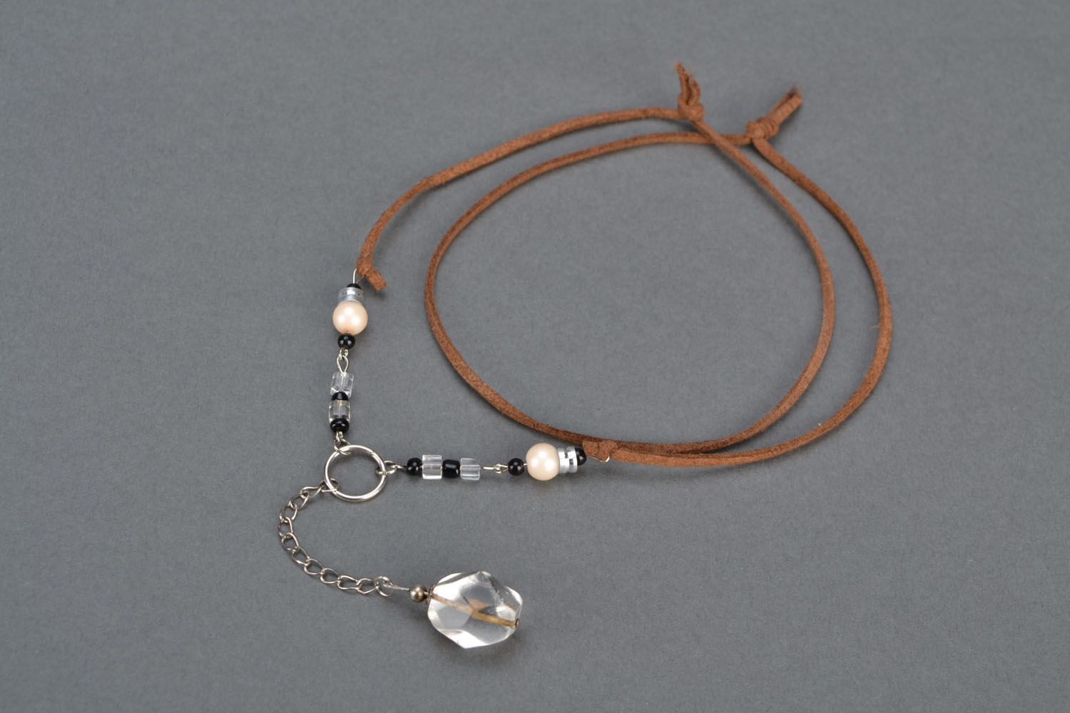 Pendant with rock crystal photo 2