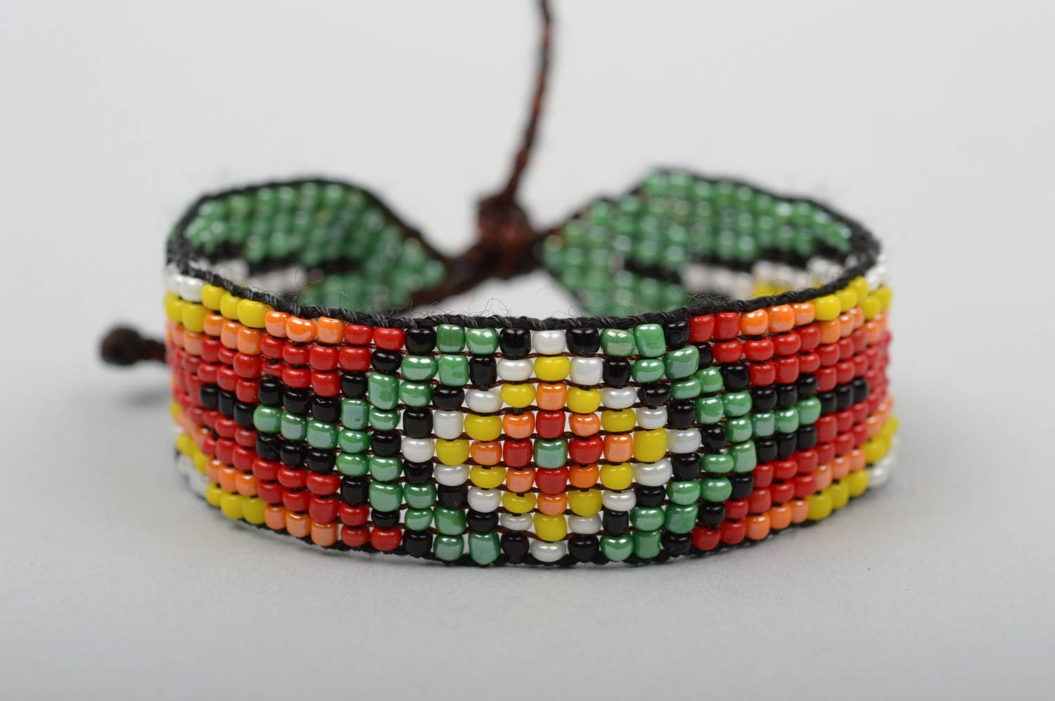 Handmade beaded bracelet fashion jewelry unique jewelry gifts for girl photo 1