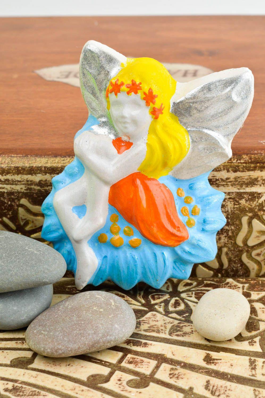 Handmade magnet unusual magnet for fridge decorative use only plaster souvenir photo 1