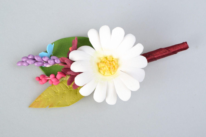 Маленькие цветы из фоамирана мастер класс с пошаговым фото