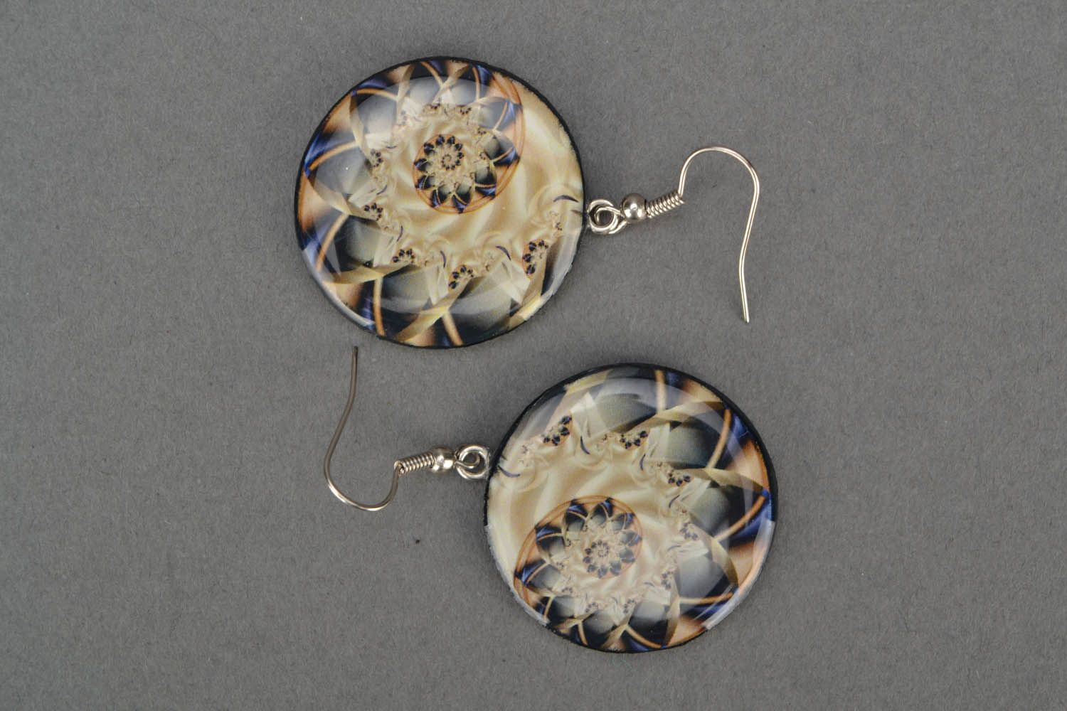 Round earrings  photo 3