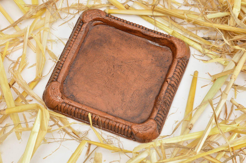 вазоны и кашпо Подставка под вазоны ручной работы изделие из глины подставка для вазонов - MADEheart.com