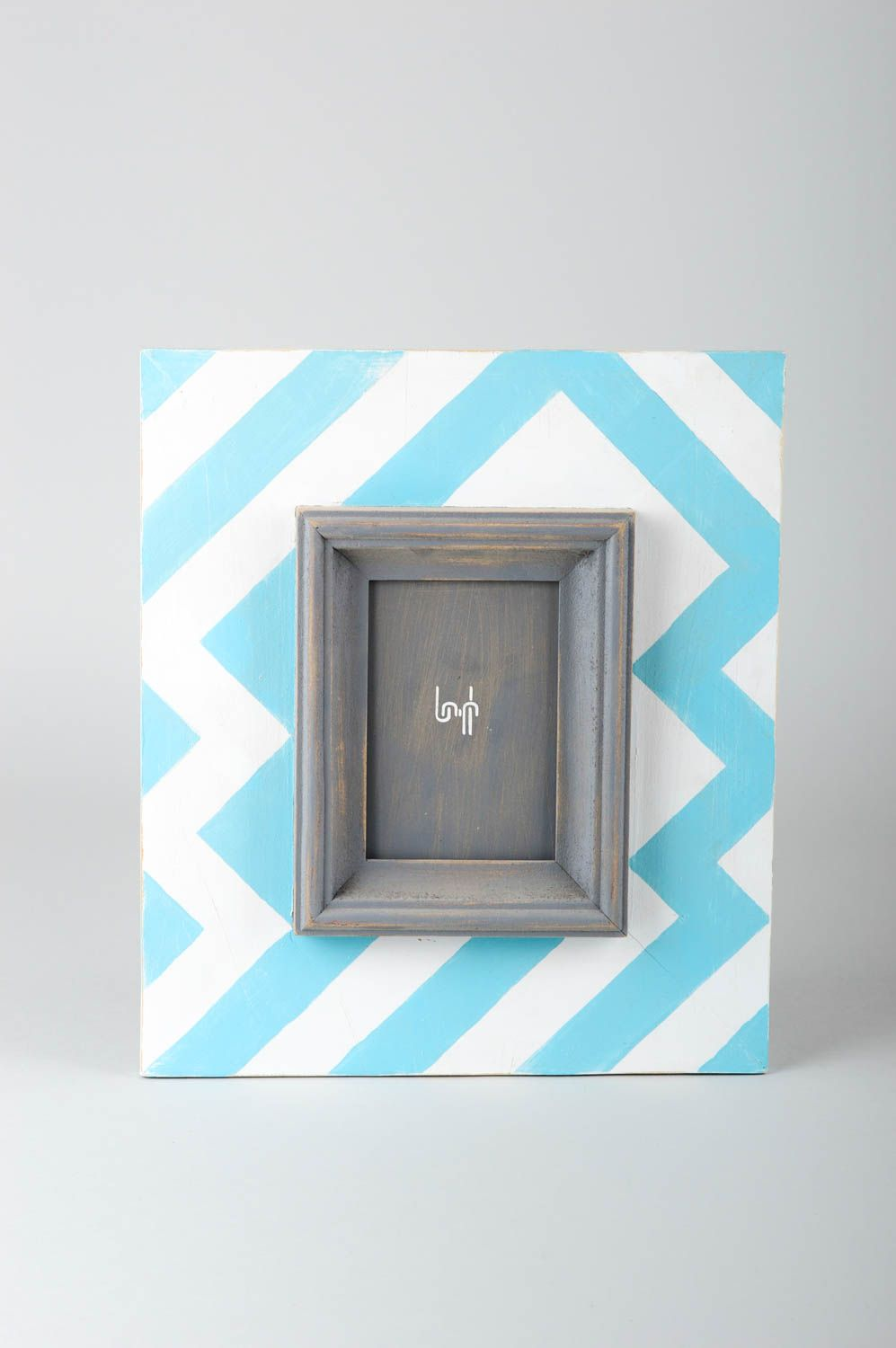 Handmade photo frame wooden frame for photo decorative use only wall decor photo 1